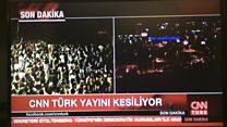 CNN Türk yayınına askerlerden müdahale