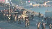 Soldiers surrender on Bosphorus bridge