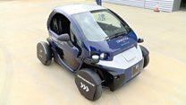 UK robot cars to challenge Google