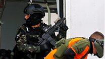 Terror exercise ahead of Olympics