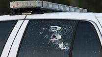 Sniper kills US police officers