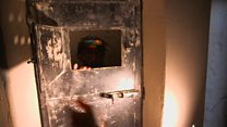 Inside 'torture cells' used by IS