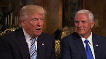Trump: 'Pence helps unify Republicans'