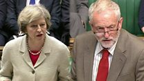 May and Corbyn outline Trident arguments