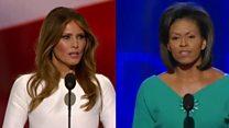 Did Trump speech copy Obama's?