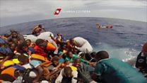 Distress call in the Mediterranean