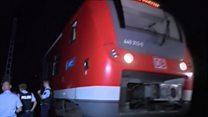 ТВ-новости: нападение с топором на пассажиров поезда в Германии