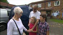 'Treasure hunt' children reunite burglary victim with stolen jewellery