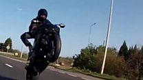 Speeding bikers reached 146mph