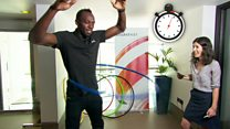 60 seconds with Usain Bolt