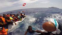 'Temos 30 minutos para sobreviver': a dramática ligação para a guarda costeira de um barco no Mediterrâneo