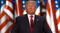 Дональд Трамп о великой стене и уважении к Америке