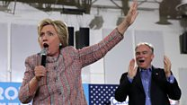 Who is Clinton's likely running mate, Senator Tim Kaine?