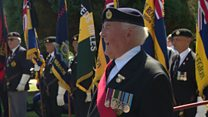 Hundreds at 'lonely' soldier funeral