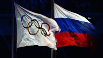 Russia is going to the Olympics...