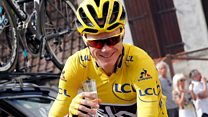 And Froome has won his third Tour de France