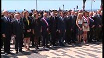 ニース犠牲者追悼で仏首相にブーイング
