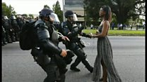 スマホが目撃する 今の米国の人種騒乱