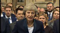 少数ではなく全員のための国を メイ次期英首相