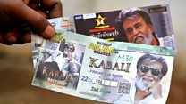 Indian firms bet on film star Rajinikanth