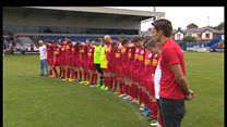 Football match raises money for Bosley charities