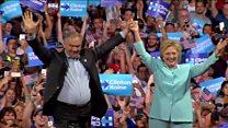 ТВ-новости: демократы готовы выдвинуть Клинтон, но любят ее далеко не все