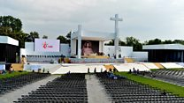 Pilgrims gather for World Youth Day 2016