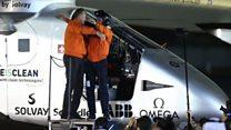 Solar Impulse completes historic trip