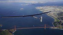 El avión Solar Impulse 2 culmina su histórica vuelta al mundo