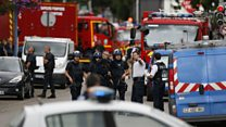 French church attack: 'Symbolic confrontation'