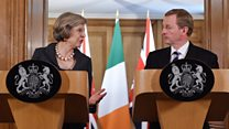 UK and Ireland 'want to keep close link'