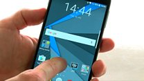 Blackberry battles on new Android phone