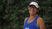 La mujer que comenzó a correr para superar la muerte de su hijo y jamás se detuvo