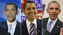 12年間のオバマ氏 やせっぽちの子から米大統領2期