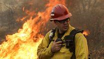 Aprende inglés: miles de personas huyen de los incendios forestales en California