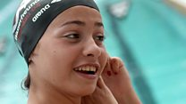 The Olympic swimmer who survived a sinking dinghy