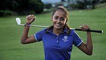 El barrio pobre en Brasil que produce campeones de golf