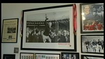 Jerseyman Archie Terry's collection of 1966 World Cup memorabilia