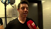 Rory admits Frampton fight nerves