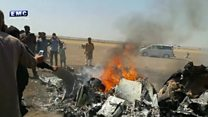 Russian helicopter shot down over Syria