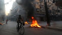 Aleppo resident: '25-30 dying every day'