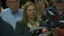 'Military mom' booed by Trump supporters