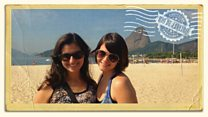 Rio 'postcard' from Brazilian medical student