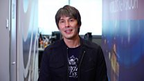 Prof Brian Cox tells the BBC that science gives us hope
