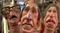 Spitting Image puppets saved by fan