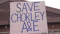 A&E closure 'not good enough'