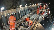 Train disruption in Merseyside