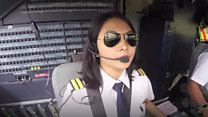 Defying tradition as a female pilot