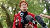 Anti-immigration politician back on the scene