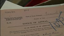 WW1 conscientious objector records found